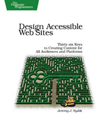 Design Accessible Web Sites