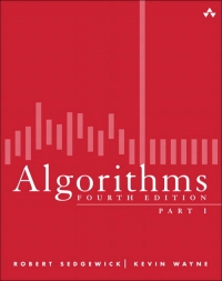 Algorithms: Part I, 4th Edition