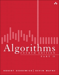 Algorithms: Part II, 4th Edition