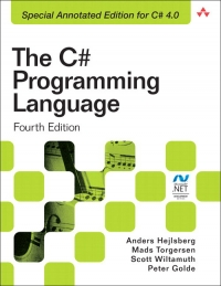 The C# Programming Language, 4th Edition