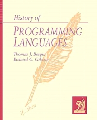 History of Programming Languages