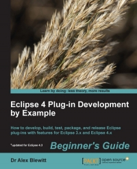 Eclipse 4 Plug-in Development by Example