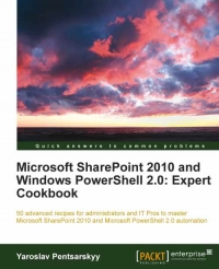 Microsoft SharePoint 2010 and Windows PowerShell 2.0