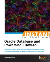 Oracle Database and PowerShell How-to