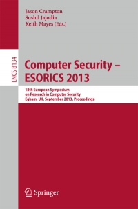 Computer Security - ESORICS 2013