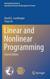 Linear and Nonlinear Programming, 4th Edition