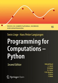 Programming for Computations - Python, 2nd Edition