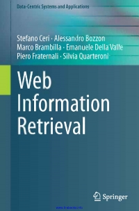 Web Information Retrieval
