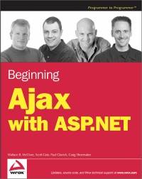 Beginning Ajax with ASP.NET Free Ebook
