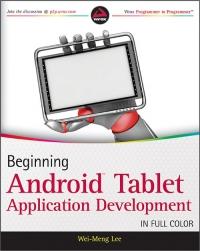 Beginning Android Tablet Application Development Free Ebook