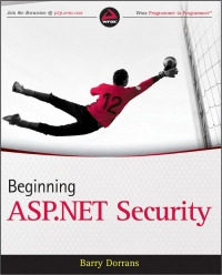 Beginning ASP.NET Security Free Ebook