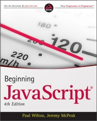 Beginning JavaScript, 4th Edition