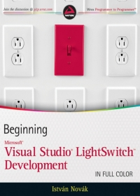 Beginning Microsoft Visual Studio LightSwitch Development Free Ebook