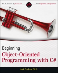 Beginning Object-Oriented Programming with C# Free Ebook
