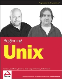 Beginning Unix Free Ebook