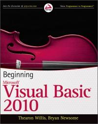 Beginning Visual Basic 2010 Free Ebook