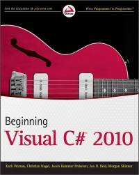 Beginning Visual C# 2010 Free Ebook