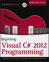 Beginning Visual C# 2012 Programming Free Ebook