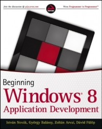 Beginning Windows 8 Application Development Free Ebook