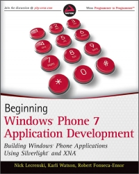Beginning Windows Phone 7 Application Development