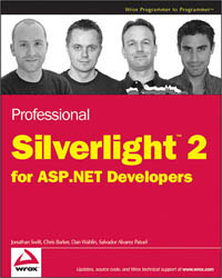 Professional Silverlight 2 for ASP.NET Developers Free Ebook