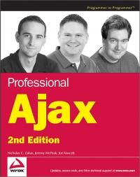 Professional Ajax, 2nd Edition Free Ebook