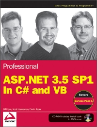 Professional ASP.NET 3.5 SP1 Edition Free Ebook