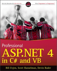 Professional ASP.NET 4 in C# and VB Free Ebook