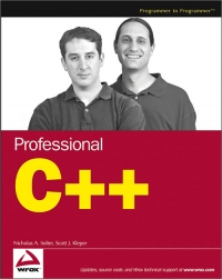 Professional C++ Free Ebook