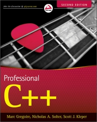 Professional C++, 2nd Edition Free Ebook