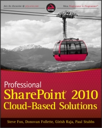 Professional SharePoint 2010 Cloud-Based Solutions Free Ebook