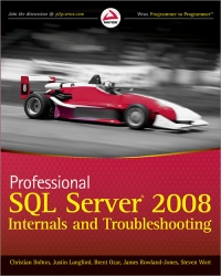 Professional SQL Server 2008 Internals and Troubleshooting Free Ebook