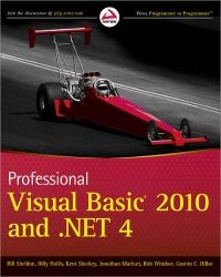 Professional Visual Basic 2010 and .NET 4 Free Ebook