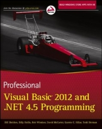 Professional Visual Basic 2012 and .NET 4.5 Programming Free Ebook