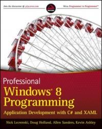 Professional Windows 8 Programming Free Ebook
