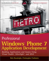 Professional Windows Phone 7 Application Development