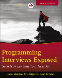 Programming Interviews Exposed, 3rd Edition Free Ebook