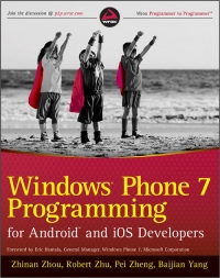 Windows Phone 7 Programming for Android and iOS Developers Free Ebook