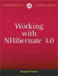 Working with NHibernate 3.0 Free Ebook
