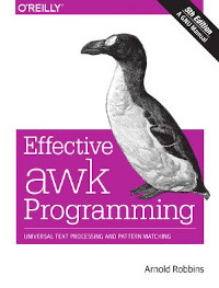 Effective AWK Programming, 5th Edition
