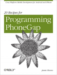 20 Recipes for Programming PhoneGap Free Ebook