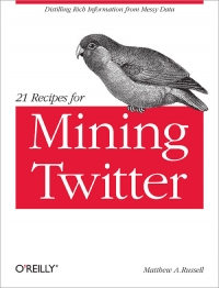 21 Recipes for Mining Twitter Free Ebook