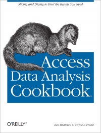Access Data Analysis Cookbook Free Ebook