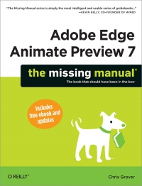 Adobe Edge Animate Preview 7: The Missing Manual Free Ebook
