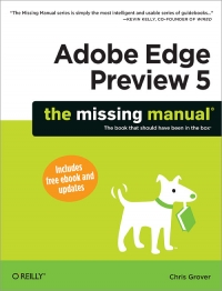 Adobe Edge Preview 5: The Missing Manual Free Ebook