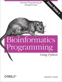Bioinformatics Programming Using Python Free Ebook