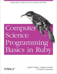Computer Science Programming Basics in Ruby Free Ebook