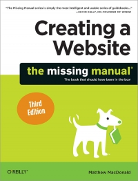 Creating a Website: The Missing Manual, 3rd Edition Free Ebook
