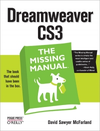 Dreamweaver CS3: The Missing Manual Free Ebook