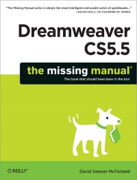 Dreamweaver CS5.5: The Missing Manual Free Ebook